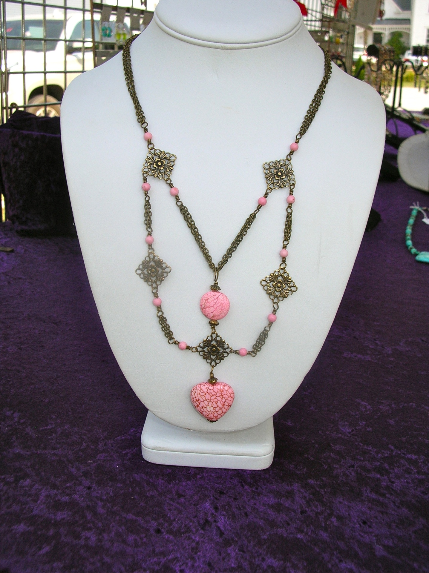 "Completed Today! ""For the Love of Antique Pink"""
